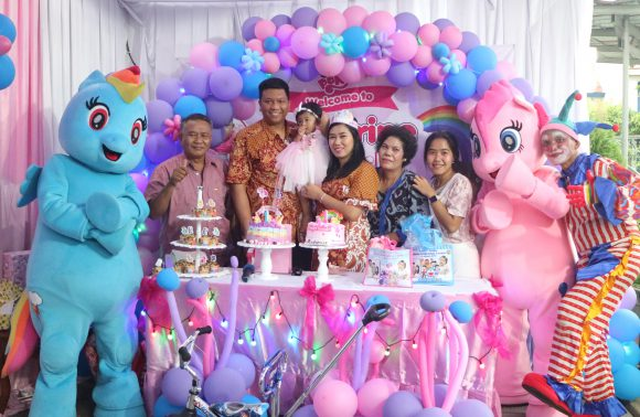 Katherine First Birthday Party, tema My Little Pony